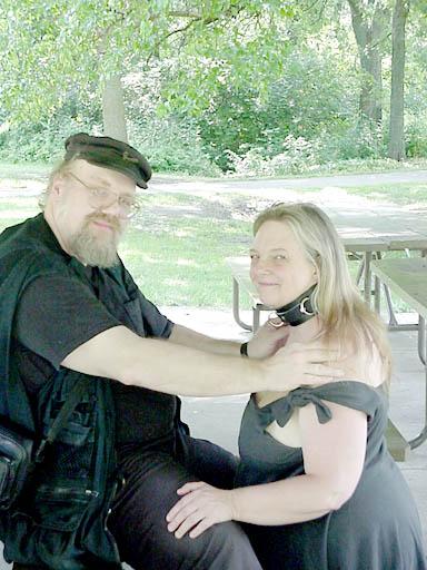 Bondage collar rituals